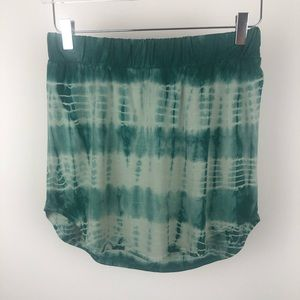 Chaser Tie-Dye Hippy Mini Skirt